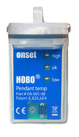 HOBO pendant temperature logger